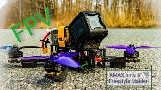 Fpv AmaxInno Freestyle 5 - Maiden