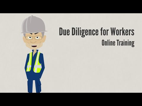Due Diligence for Workers - YouTube