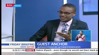Ommy Dimpoz speaking to KTN News | GUEST ANCHOR