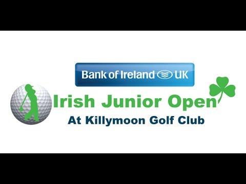 2014 Irish Junior Golf Open featuring golfing superstars Darren Clarke, Shane Lowry and Justin Rose