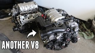 Getting ANOTHER 1UZ V8 for the Drift Truck!