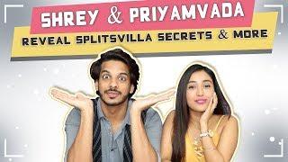Shrey Mittal And Priyamvada Kant Talk About Their Love, Connection, Tasks | MTV Splitsvilla