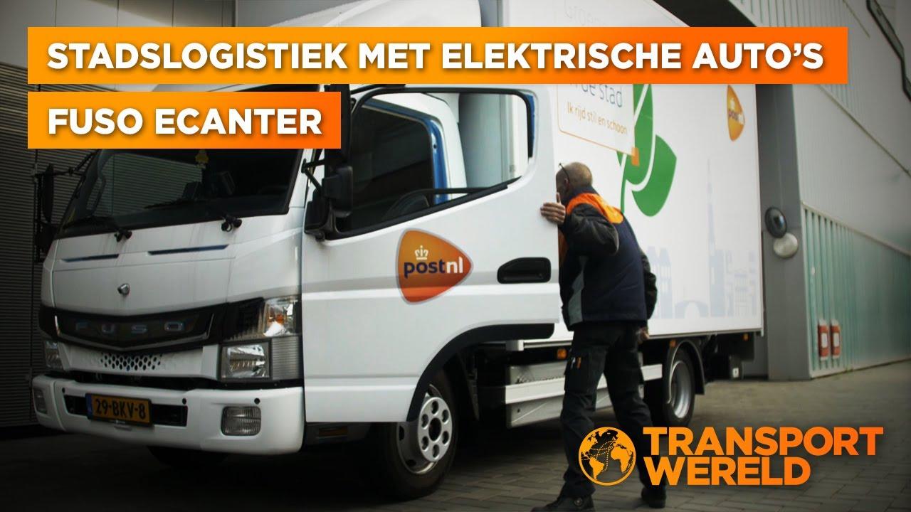 Elektrisch bezorgen met de Fuso eCanter en Post NL