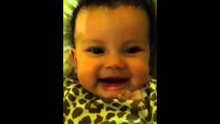 Amirah laughing