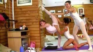 Escuela Sudamericana De Ballet-6th Part-Ballet Flexibility-NEW Stretching Exercises-Ballet Class-