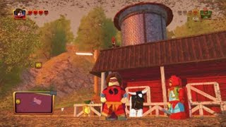 Lego® The Incredibles - Splas Own And Stratogale Gameplay