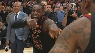 LeBron Game Winner Game 3! DeRozan Benched in 4th! 2018 NBA Playoffs