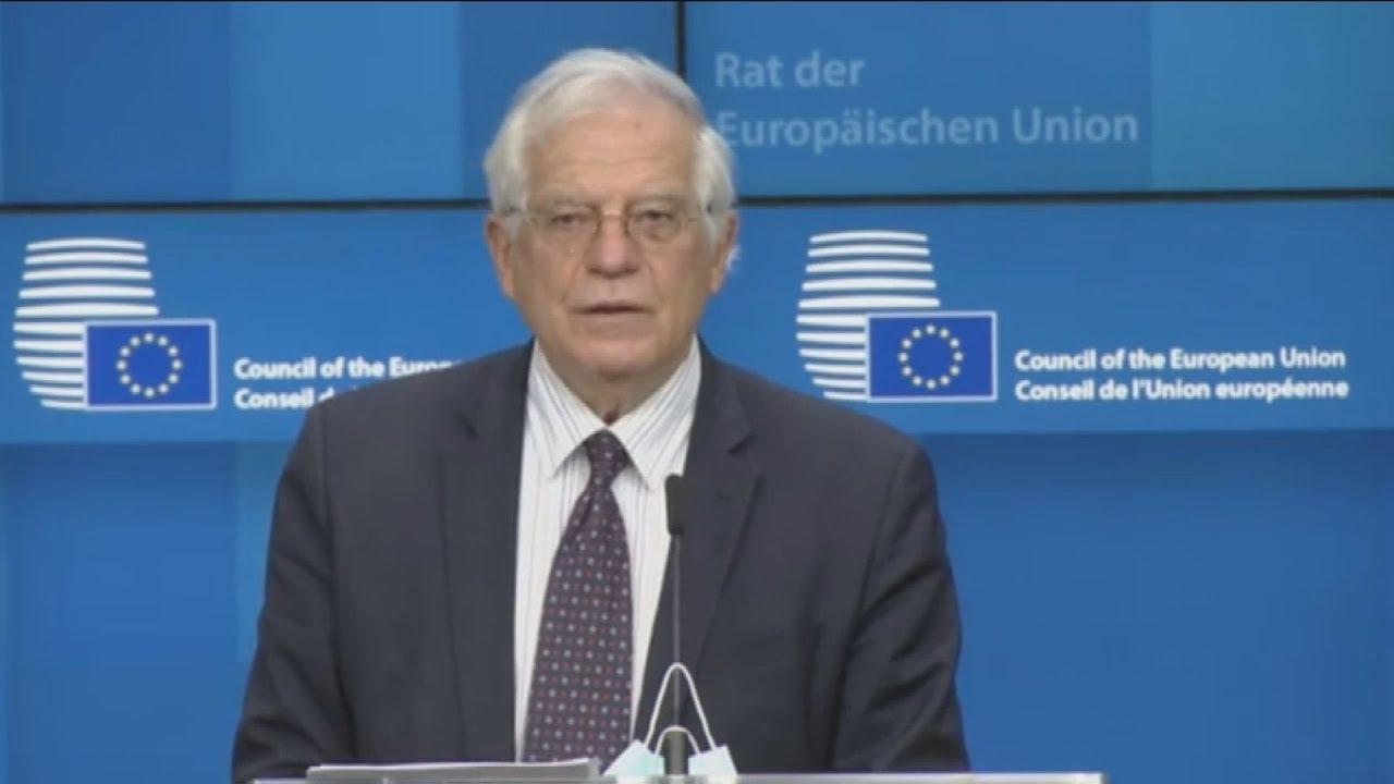 Συνέντευξη Τύπου μετά τη βιντεοδιάσκεψη των υπουργών Άμυνας της ΕΕ