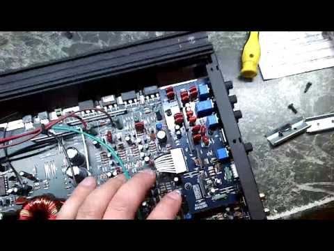 BLAUPUNKX. GTA475 ремонт.разбор.