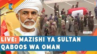 LIVE: MAZISHI YA SULTAN QABOOS WA OMAN
