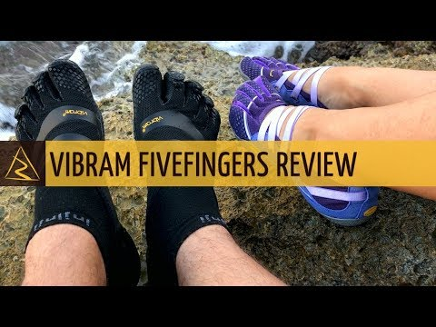 Vibram Five Fingers Minimalist Shoes - First Impressions And Testing (ELX model)