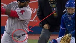 MLB Craziest Equipment Malfunctions  ᴴᴰ