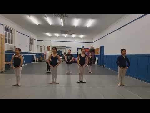 TueㅣGrade3 ballet classㅣOnline Open Classㅣ온라인 오픈클라스ㅣKing's Angels Ballet Academy ㅣ화요일 🎀