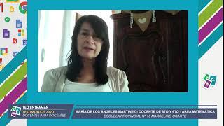 María de los Ángeles Martinez, Escuela N° 16