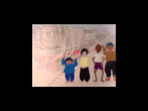 広島市立庚牛中学校美術部制作「ねがい27」