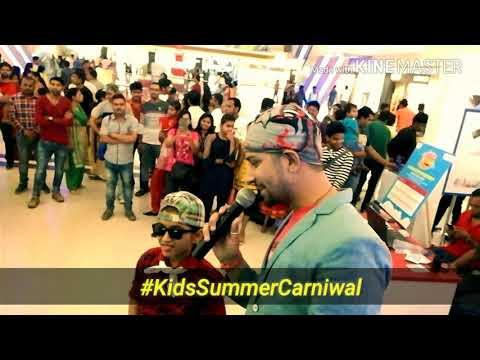MC Viennay Tiwaarri Hosted #KidsCarnival2018 at Indore