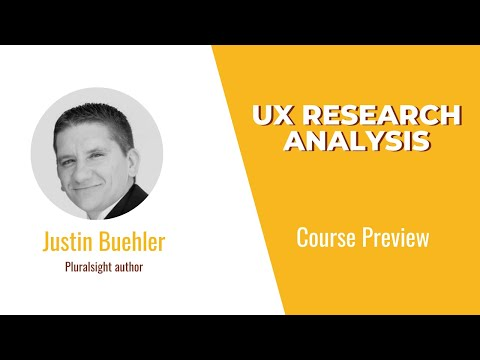 UX Skills: UX Research Analysis Course Preview - YouTube