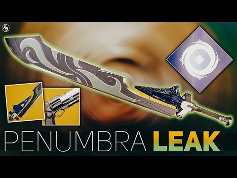 Destiny 2 | Penumbra Leak (Hawkmoon Returning & Dark Drinker) Season of Opulence