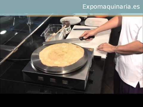 Crepera Electrica Profesional - Expomaquinaria -
