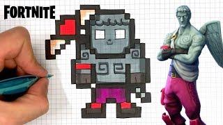 Pixel Art Fortnite Skin Ikonik