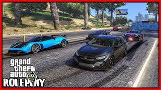 GTA 5 Roleplay   I 'Shut Down' Highway For Drag Racing   RedlineRP #760