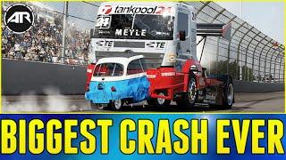 Forza 6 Online : BIGGEST CRASH EVER!!! - dooclip.me