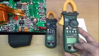 REVIEW: Mastech MS2108A AC/DC current Clamp meter and some update about my bench