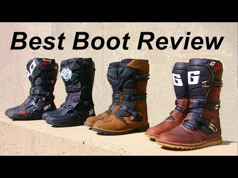 Best Boot Dual Sport/Adv Mx Review