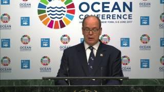 Allocution de SAS le Prince Albert II à la Conférence des Océans