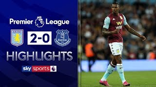 SUBSCRIBE ► http://bit.ly/SSFootballSub Highlights of Aston Villa's first win back in the Premier League as goals from Wesley and Anwar El Ghazi secured a 2-0 win over Everton on Friday Night Football.  Watch Premier League LIVE on Sky Sports here ► http://bit.ly/WatchSkyPL ►TWITTER: https://twitter.com/skysportsfootball ►FACEBOOK: http://www.facebook.com/skysports ►WEBSITE: http://www.skysports.com/football  MORE FROM SKY SPORTS ON YOUTUBE: ►SKY SPORTS FOOTBALL: http://bit.ly/SSFootballSub ►SKY SPORTS BOXING: http://bit.ly/SSBoxingSub ►SOCCER AM: http://bit.ly/SoccerAMSub ►SKY SPORTS F1: http://bit.ly/SubscribeSkyF1