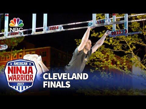Joe Moravsky at the Cleveland City Finals - American Ninja Warrior 2017