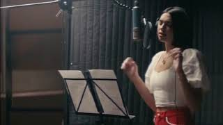 "Dua Lipa Recording ""If Only"" In Studio"