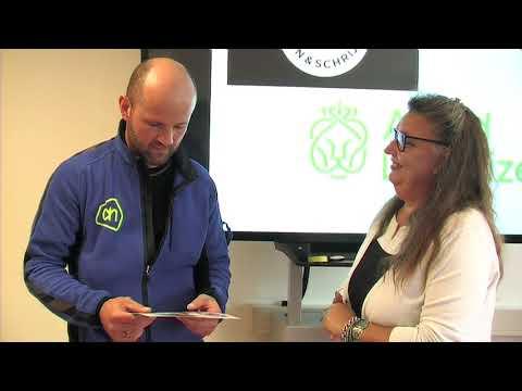 Bekijk details van Certificaat uitreiking bij distributiecentrum Ahold Delhaize in Delfgauw