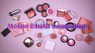 Alle meine Blushes   Make-up Sammlung 2021   Swatches & Declutter