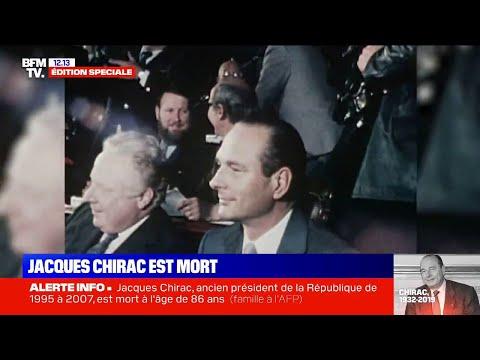 Jacques Chirac est mort : retour sur le parcours d'un homme politique hors norme Jacques Chirac est mort : retour sur le parcours d'un homme politique hors norme