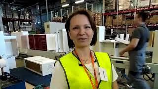Видеоотзыв клиентки Татьяны Сапожниковой об экскурсии на фабрику