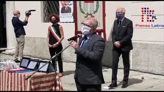 Patria es humanidad, médicos cubanos en ciudad italiana de Crema