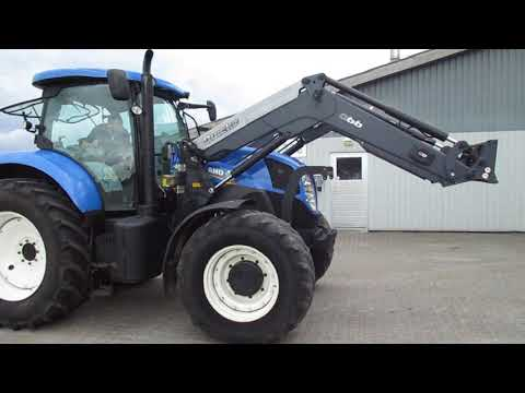Video: New Holland T7.170 tractor with front loader 1