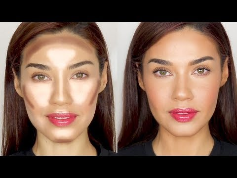 How To Contour & Highlight Naturally  | Eman