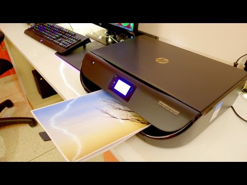 HP DeskJet 4535 all in one wireless printer review (unboxing setup and print quality test)