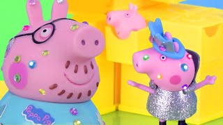 Peppa's Secret Surprise Box | Peppa Pig Stop Motion | Peppa Pig Toys | Toys fir Kids