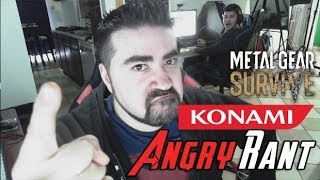 Konami Sells Save Slots in MGS! - Angry Rant