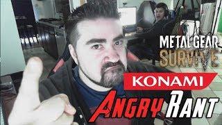 Konami Sells Save Slots in MGS! - Angry Rant