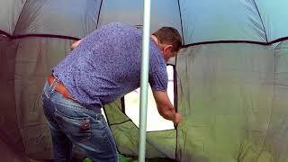 Тенты для рыбалки без дна