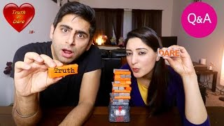 DIRTY TRUTH OR DARE | OUR FIRST Q&A | JENGA QUAKE