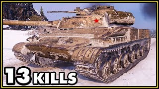 Object 907 - 13 Kills - World of Tanks Gameplay