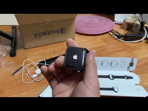 사사의 NEBOX 207. 애플의 나이키 애플워치 SE (apple/watch/44mm/언박싱/개봉기)