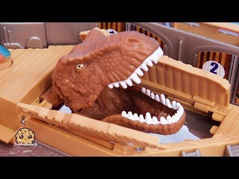 Dino Surprise ! Jurassic World 2 Harbor Dinosaur Movie Video