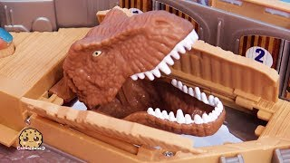 Dino Surprise ! Jurassic World 2 Harbor Dinosaur Movie Toy Playset