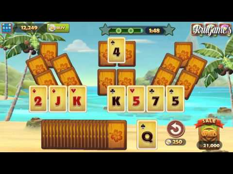 Solitaire TriPeaks Android Gameplay